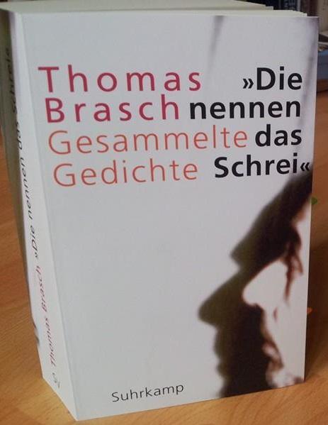 """Der Grenzgänger – Thomas Brasch """"Die nennen das Schrei. GesammelteGedichte"""""""